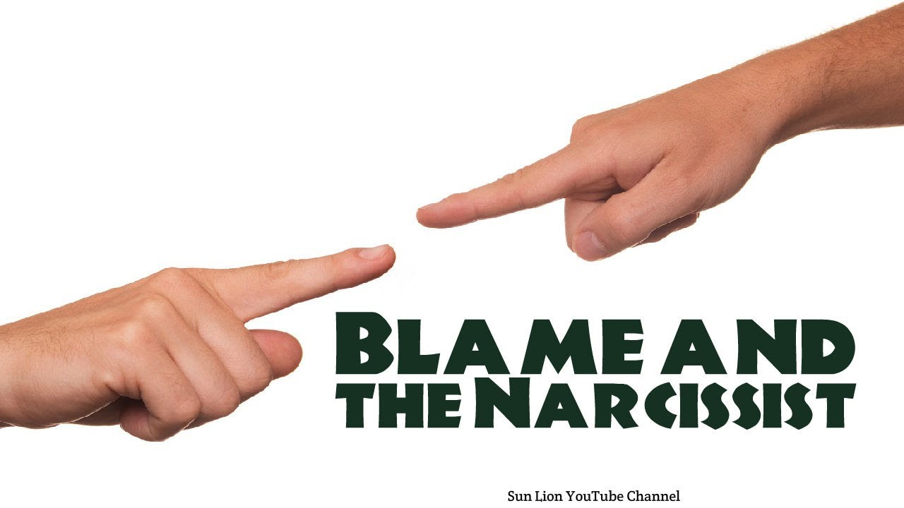 Narcissists always blame others  5 Sneaky Things Narcissists