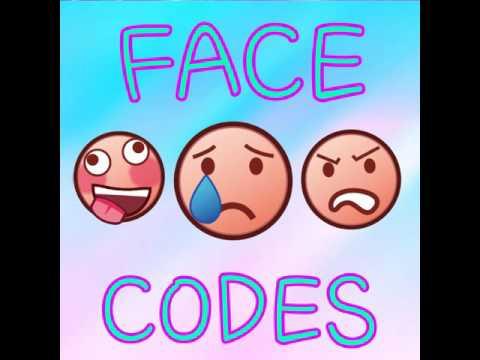 roblox makeup face codes