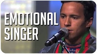 Jon Henrik's emotional & powerful original song pulls heartstrings on Sweden's Got Talent