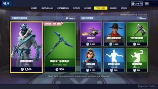 'NEW' SNOWFOOT SKIN - 4 janvier Fortnite Item Shop LIVE