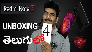 Xiaomi Redmi note4 unboxing & initial impressions ll in telugu ll