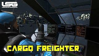 Space Engineers - Cataclysm, Modular Cargo Freighter