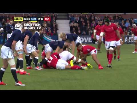 Highlights of the viagogo Autumn Test match between Scotland and Tonga