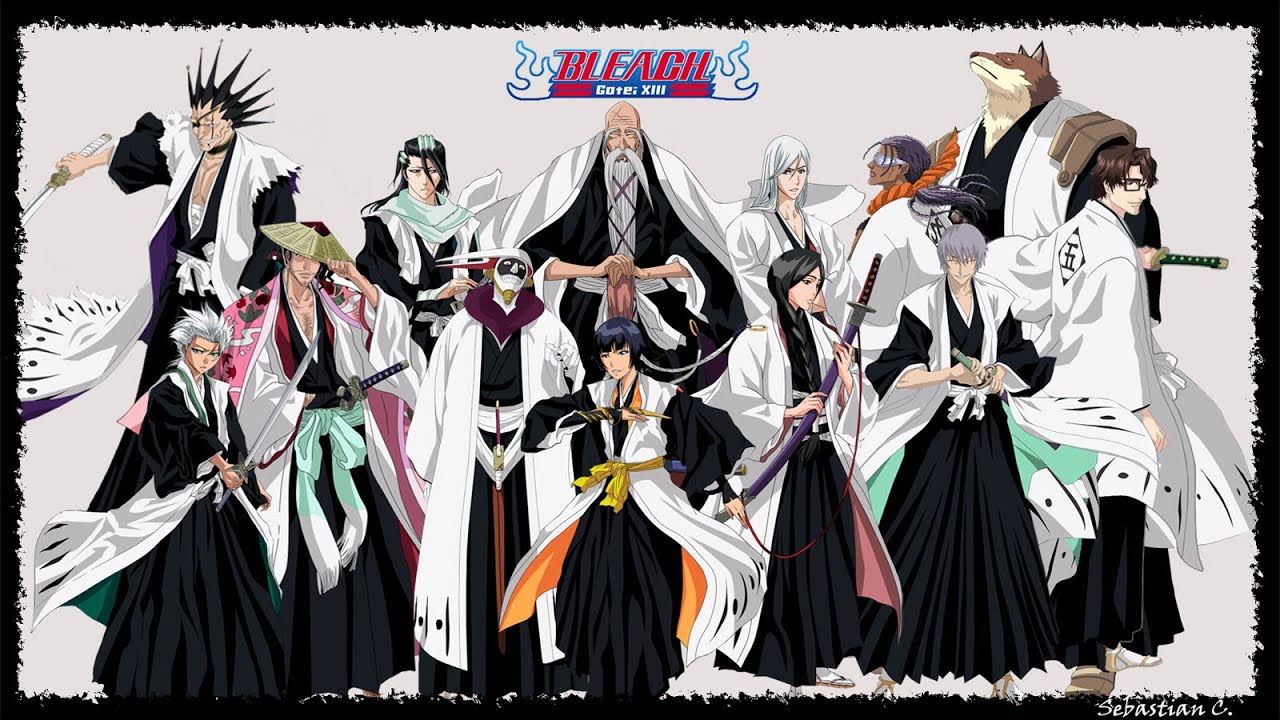 Top 10 Captains In Bleach