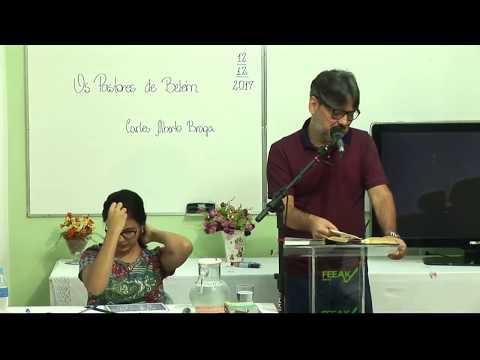 """Palestra: """"Os pastores de Belém"""" com Carlos Alberto Braga"""