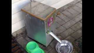 видео Автокормушки для домашних животных