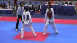 vuclip Philippines vs Singapore - 26th  SEA Games Taekwondo  - Under 58 kg Men