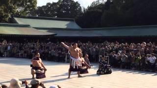 2014年3月28日(金)、鶴竜関最初の土俵入り。