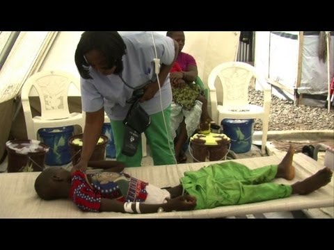 Cholera epidemic sweeping through West Africa