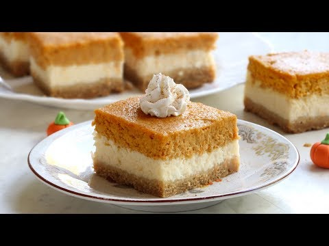 How to make Pumpkin Pie Cheesecake Bars
