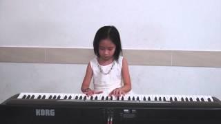 Nguyễn Huỳnh Ngọc Minh (Học sinh trường nhạc Hóa Quang) - Lavender Blue - KORG SP250 thumbnail