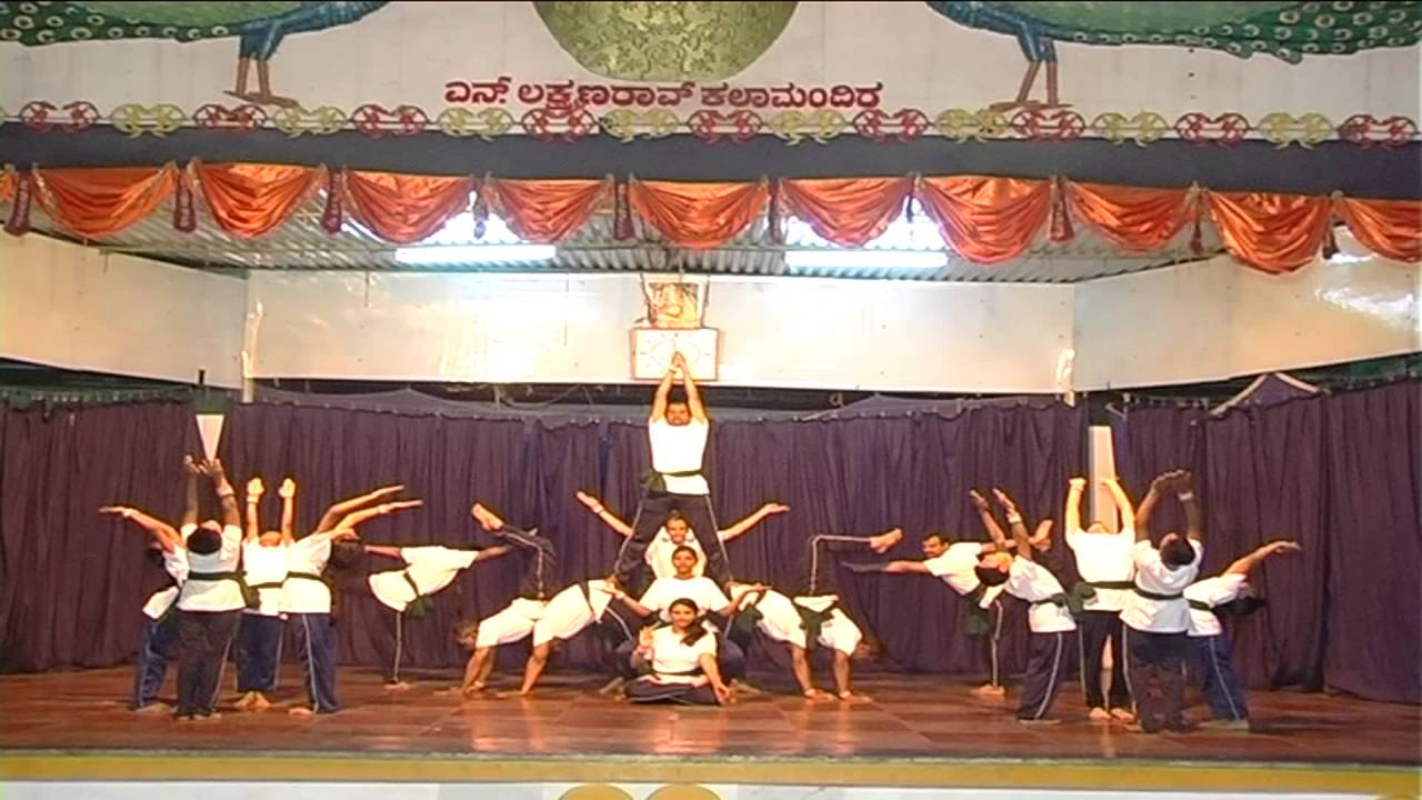 Yoga Formation A Creative Dance Performance Youtube