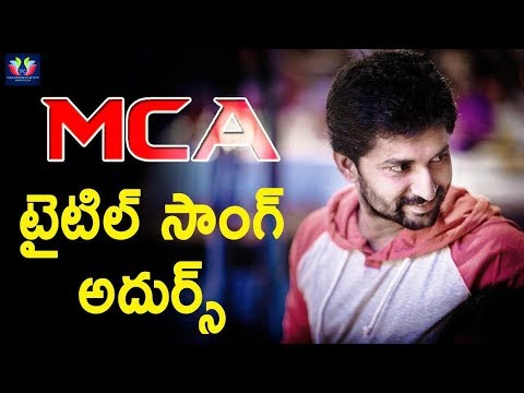 Nani's MCA Title Song || Middle Class...