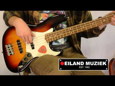 Fender American Special Jazz Bass 3 Tone Sunburst