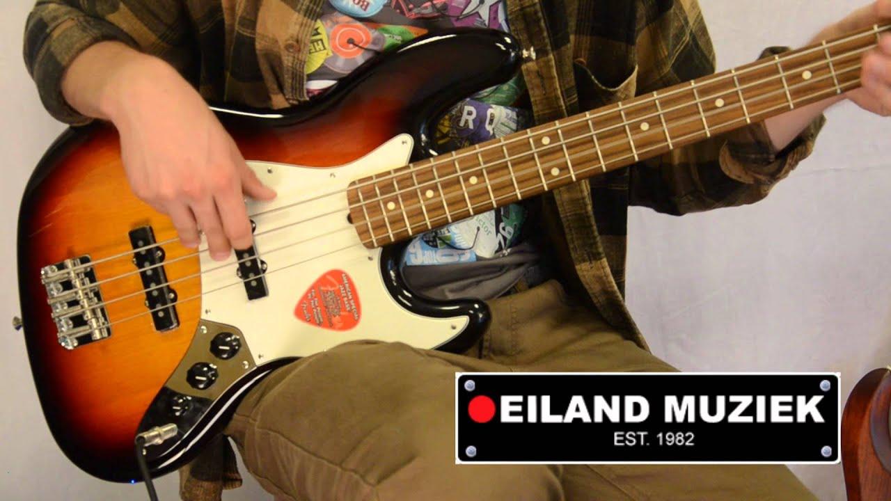 Fender American Special Jazz Bass 3 Tone Sunburst Youtube