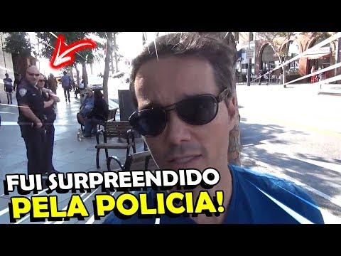 VISITEI O PIER DO GTA V NA VIDA REAL, POLICIA ME SURPREENDEU!!!
