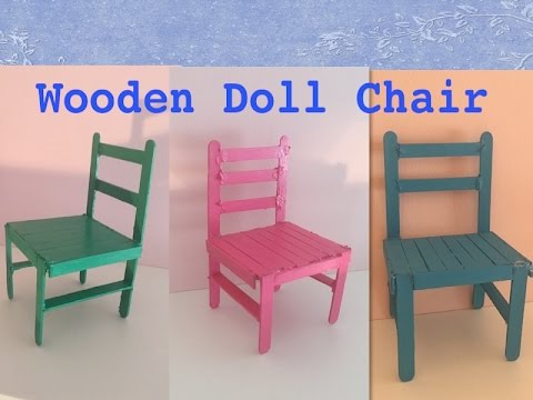 american doll chair wooden high chairs how to make a youtube