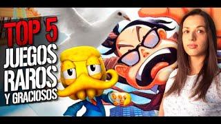 Top 5: Juegos raros y graciosos