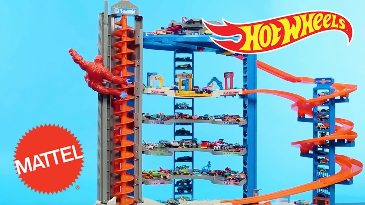 Super Ultimate Garage Air Drop Hot Wheels Mattel Youtube