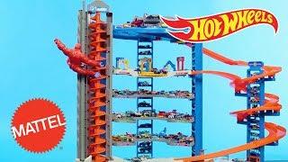 Super Ultimate Garage Air Drop | Hot Wheels | Mattel