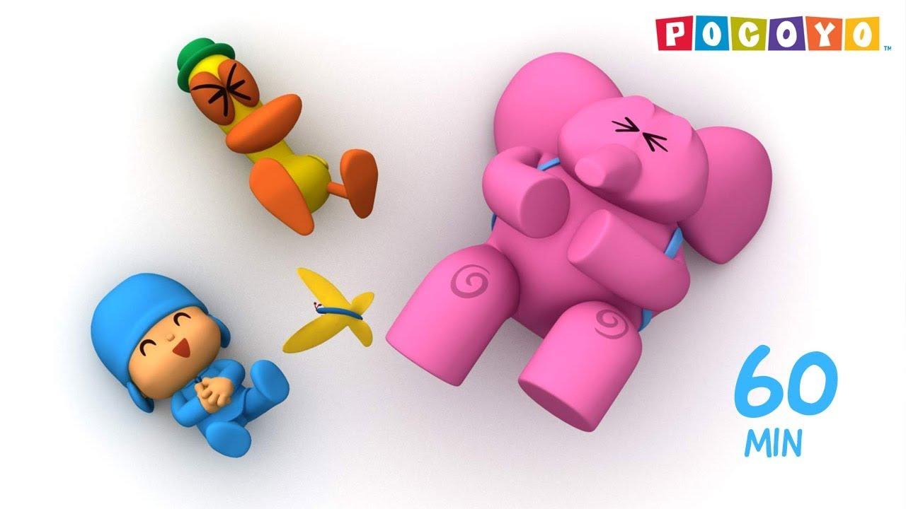 Pocoyo minuti di cartone animato educativo per i bambini