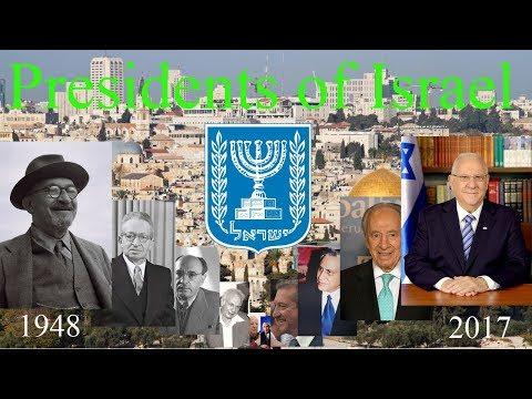 Presidents of Israel