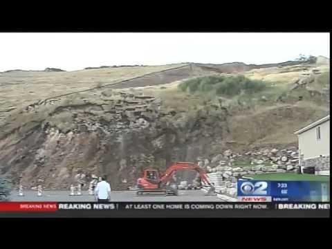 EXCLUSIVE: Time lapse video of landslide in North Salt Lake neighborhood