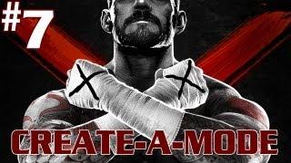 WWE '13 - Walkthrough - Create-A-Modes - Part 7 - [Move Set] - No Greasy Hair Gel