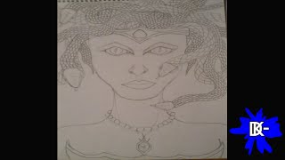 Como dibujar a Medusa (mitología griega)