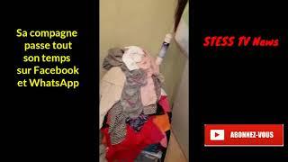 [STESS TV News] Sa Femme Passe Son Temps Sur Facebook et WhatsApp, Il Craque & Filme Sa Maison Sale