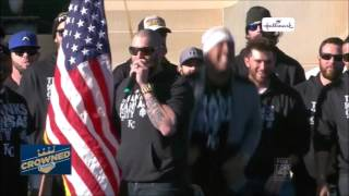 Jonny Gomes - 2015 World Series Parade Speech