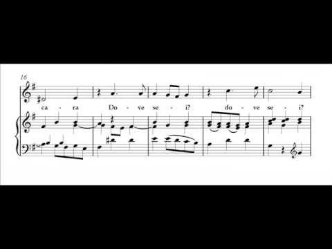 Rinaldo, CARA SPOSA, Aria of Rinaldo, Georg Frideric Handel (1685-1759)