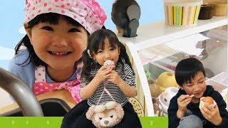 アイスクリーム屋さんごっこ お買い物ごっこ 辛いアイス??Pretend Play as a Ice Cream Toy
