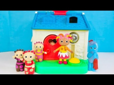 Fisher Price LITTLE PEOPLE House IN THE NIGHT GARDEN Toys Stacking Barbapapa Puzzle