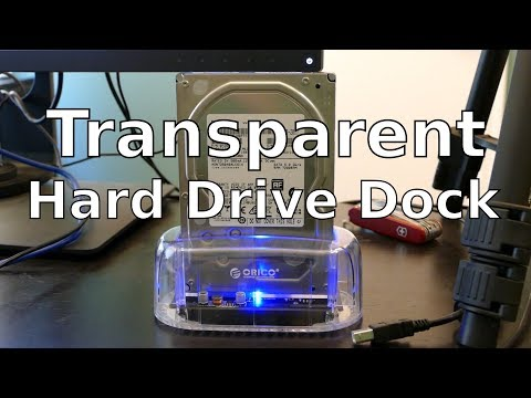 Orico HDD Dock Unboxing & Firmware Update