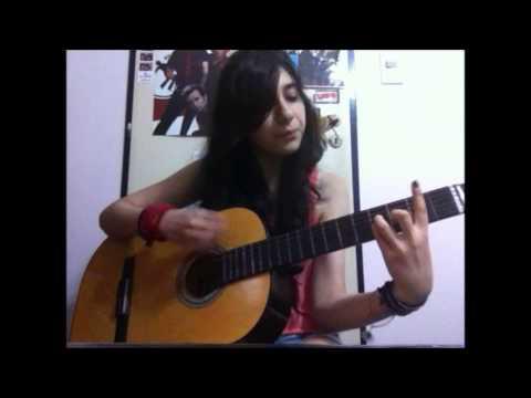 Rebel Love Song- Black Veil Brides Acoustic cover