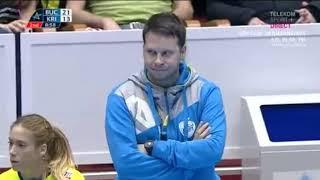 CSM Bucuresti - Krim Ljubliana second half CL 2019