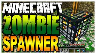Minecraft - Capture a Zombie Spawner get Easy Experience Points (Map Giveaways in the Description)