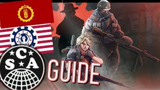 HOI 4 Kaiserreich Guide: The Combined Syndicates of America (&amp; friends)<