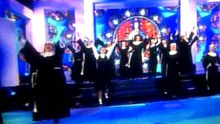 sister act musical @michel drucker tv show @champs eLysees feb2013 Thumbnail