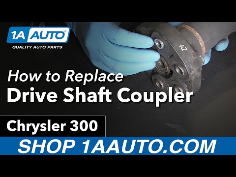 How to Replace Driveshaft Coupler 05-10 Chrysler 300