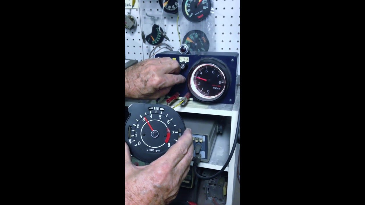 Electronic Tachometer Conversion