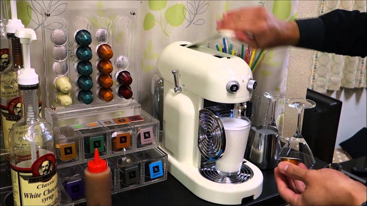 ネスプレッソでキャラメルマキアートとカフェモカを作ってみた Caramel Macchiato And Caffe Mocha With Nespresso Youtube