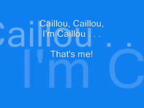 Caillou English Theme  S