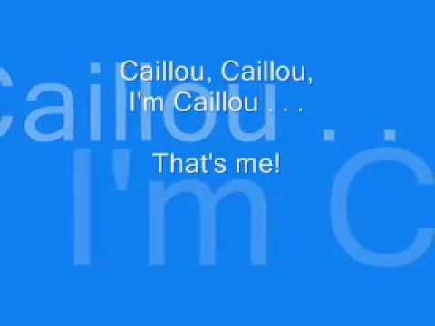 Caillou English Theme Song [LYRICS]