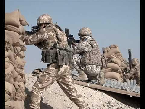 British-Arab War Training