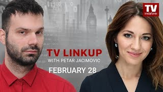 InstaForex tv news: TV Linkup February 28: USD to give in to EUR and GBP. Outlook for EUR/USD, GBP/USD, and USD/JPY
