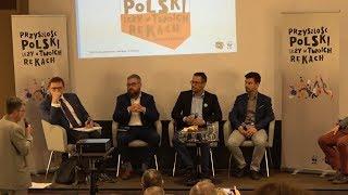 Debata ekopatriotyczna w Ostrołęce z udziałem kandydatów do sejmu