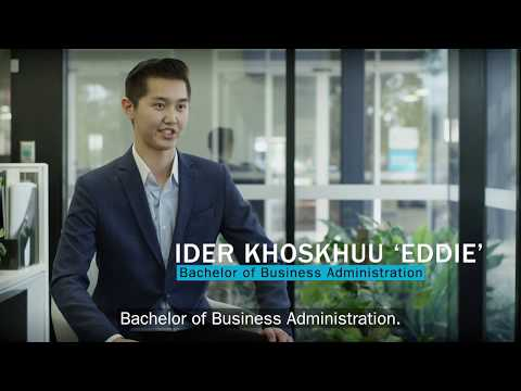 Bachelor Of Business Administration - Eddie