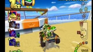 Mario Kart Double Dash - Bowser & Bowser Jr. - Flower Cup 100cc